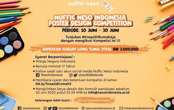 Nuffic Neso Indonesia Desain Poster Competition
