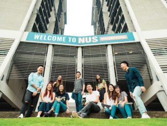 Ilustrasi: Para mahasiswa National University of Singapore (NUS). (Ist.)