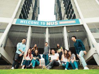 Ilustrasi: Para mahasiswa National University of Singapore (NUS). (Ist.)