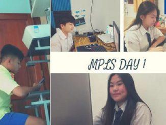 Peserta didik baru mengikuti Masa Pengenalan Lingkungan Sekolah (MPLS) SMA Strada St. Thomas Aquino secara virtual pada 13-15 Juli 2020