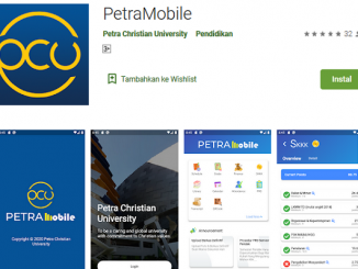 Aplikasi PetraMobile UK Petra Surabaya