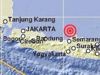 Ilustrasi: Gempa di Jepara, Jawa Tengah. (Ist)