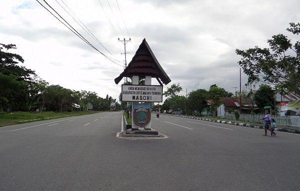 Kota Masohi di Kabupaten Maluku Tengah