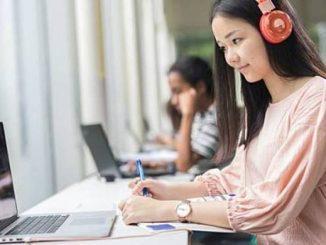 Ilustrasi: Pembelajaran jarak jauh atau online. (Ist.)