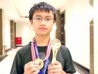 Peter Addison Sadhani (SMA Santo Aloysius 1 Bandung). (Ist.)