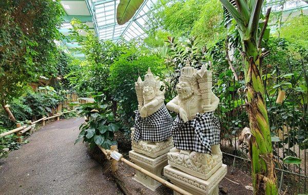 Rumah Hutan Tropis Khas Indonesia Kini Ada di Tierpark Berlin