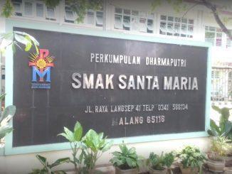 Ilustrasi: SMA Katolik Santa Maria Malang, Jawa Timur. (Ist.)