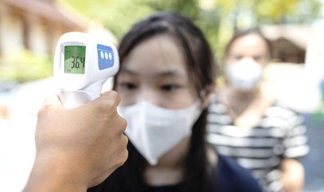 Ilustrasi: Thermogun, alat pendeteksi suhu tubuh tanpa kontak fisik. (Ist.)