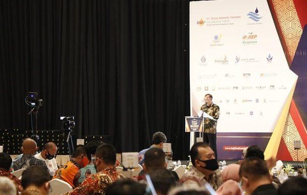 Ajang TOP BUMD Awards 2020 (Badan Usaha Milik Daerah) di The Sultan Hotel Jakarta, Kamis, 27 Agustus 2020
