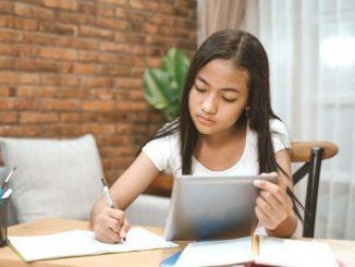 Ilustrasi: Beragam upaya agar siswa bisa belajar secara daring. (Ist.)