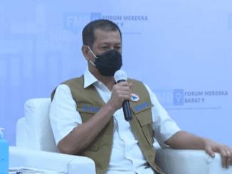 """Ketua Satuan Tugas (Satgas) Penanganan Covid-19, Doni Monardo dalam Diskusi FMB9 """"Kesehatan Pulih, Ekonomi Bangkit"""" pada Sabtu, 15 Agustus 2020"""