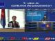 Duta Besar Uni Eropa untuk ASEAN, Igor Driesmans saat konferensi pers 3rd ASEAN-EU Cooperation and Scholarships Day pada Kamis, 13 Agustus 2020