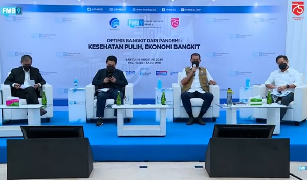 """Diskusi FMB9 """"Kesehatan Pulih, Ekonomi Bangkit"""""""