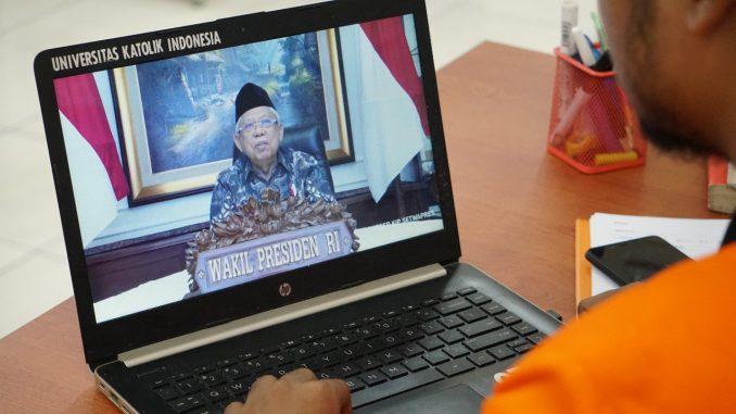 Wakil Presiden Republik Indonesia 2019-2024, K.H. Ma'aruf Amin