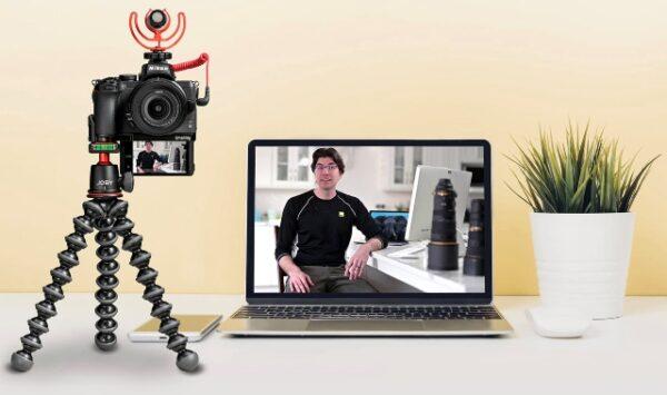 Ilustrasi: Kamera DSLR dan mirrorless kini bisa diubah menjadi webcam. (Ist.)