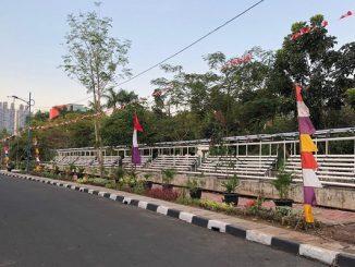 Khitas (Kebun Hidroponik Taman Solo) yang dikelola oleh Kelompok Petani Kota (KPK) RW.04, Kelurahan Cempaka Putih Timur