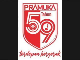 Ilustrasi: Logo HUT Pramuka ke-59. (Ist.)