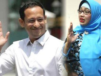 Ilustrasi: Mendikbud Nadiem Makarim dan Retno Listyarti. (repro: KalderaNews.com/y.prayogo)