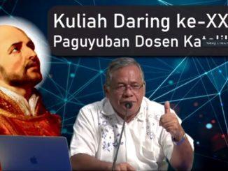 Rektor Kolese Kanisius Jakarta sekaligus Ketua Yayasan Budi Siswa, P.J Heru Hendarto SJ