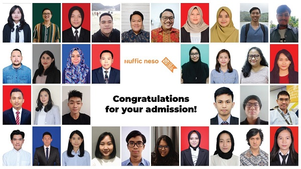Beberapa peserta Study in Holland Virtual Pre-departure Briefing oleh Nuffic Neso Indonesia selama 6 hari berturut-turut dimulai pada Sabtu, 1 Agustus dan berakhir pada Kamis, 6 Agustus 2020