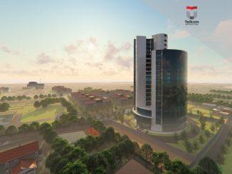 Ilusrtasi: Rencana Telkom University Landmark Tower (TULT) yang akan selesai Juni 2021. (Dok. Tel-U)