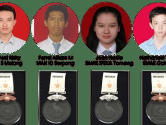 Tim Olimpiade Biologi Indonesia meraih prestasi terbaik di ajang Internasional Biology Olympiad (IBO) Challenge 2020. (Ist.)