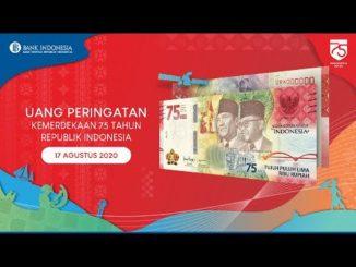 Ilustrasi: Uang pecahan baru yang diluncurkan Bank Indonesia untuk memperingati HUT RI ke-75. (Ist.)