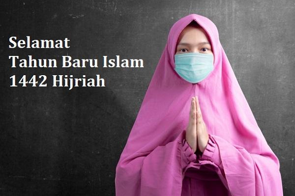 20 Ucapan Selamat Tahun Baru Islam 1442 Hijriah Bertema ...