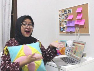 Anggia Putri Fianda Cahyani, mahasiswi Psikologi Universitas Mercu Buana Jakarta, Duta Generasi Berencana (GenRe) Jakarta Barat 2020. (KalderaNews.com/Dok.Pribadi)