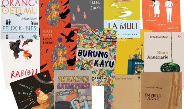 Ilustrasi: Beberapa buku sastra yang masuk daftar panjang Kusala Sastra Khatulistiwa 2020. (KalderaNews.com/y.prayogo)