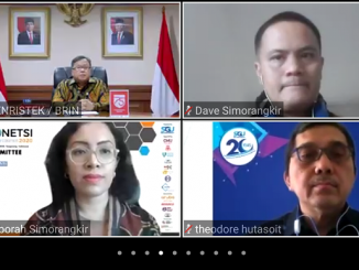 Menteri Riset dan Teknologi sekaligus Kepala Badan Riset dan Inovasi Nasional (Menristek/Kepala BRIN), Prof. Bambang Permadi Soemantri Brodjonegoro, PhD menjadi key speaker International Conference on Engineering and Information Technology for Sustainable Industry 2020 (ICONETSI 2020) yang diselenggarakan Swiss German University (SGU), Senin, 28-29 September 2020