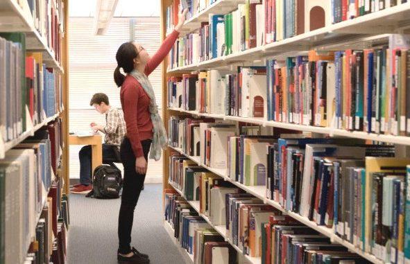 Ilustrasi: Fakta unik Hari Kunjung Perpustakaan yang diperingati 14 September. (Ist.)