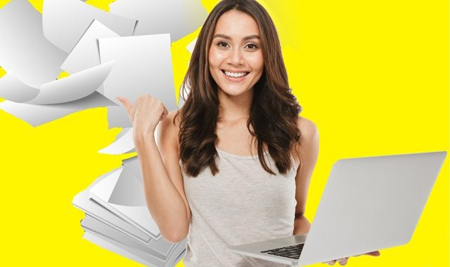 Ilustrasi: Inilah manfaat menjadi mahasiswa dengan gaya hidup paperless. (KalderaNews.com/repro: y.prayogo)