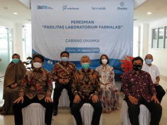 PT. Indofarma Tbk memilih Uhamka untuk bekerja sama dalam menyediakan laboratorium tes Covid-19 (KalderaNews/Dok.Uhamka).