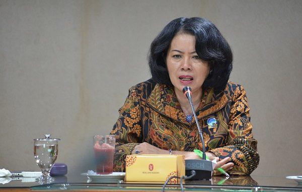 Sekretaris Jenderal Kementerian Komunikasi dan Informatika Rosarita, Niken Widiastuti