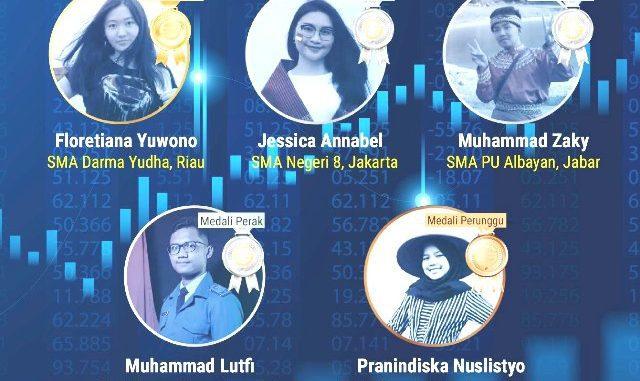 Ilustrasi: Prestasi tim Indonesia dalam ajang Olimpiade Ekonomi Internasional 2020. (Ist.)