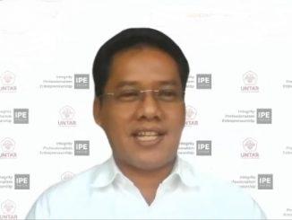 Rektor Universitas Tarumanagara (Untar) Jakarta, Prof. Dr. Agustinus Purna Irawan