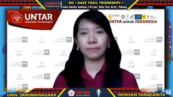 Seminar online Yayasan Tarakanita dan Universitas Tarumanagara. (KalderaNews.com/Dok. Untar)