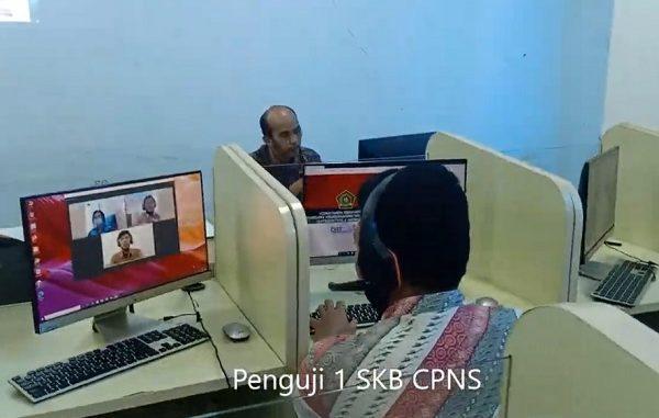 Simulasi Seleksi Kompetensi Bidang Calon Pegawai Negeri Sipil (SKB CPNS) Kementerian Agama, Sabtu, 12 September 2020