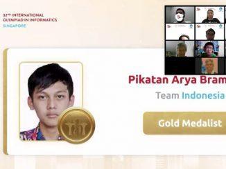 Tim Indonesia Raih Empat Medali di International Olympiad in Informatics 2020. (Dok.Puspresnas)