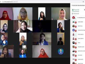 Sebanyak 50 mahasiswa prodi Keperawatan menjalani yudisium daring dengan rincian 25 mahasiswa profesi dan 25 mahasiswa S1 (KalderaNews/Dok. Esa Unggul).