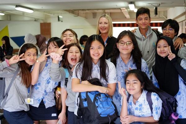 Peserta didik di ACG School Jakarta
