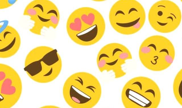 Ilustrasi: Beragam emoji untuk memperkuat pesan digital. (Ist.)