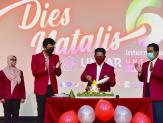 Dies Natalis Universitas Tarumanagara. (KalderaNews.com/Dok.Untar)