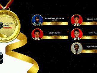 Para pemenang peraih medali emas KSN jenjang SMA Bidang Fisika 2020