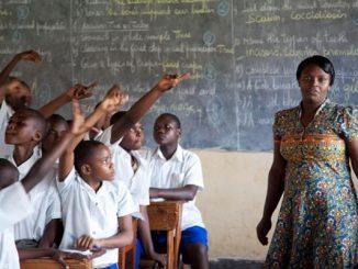 Hari Guru Sedunia, Guru di Afrika