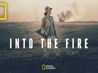 Poster Film Dokumenter Into The Fire (KalderaNews/Dok.Nobel)