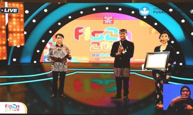 Jawa Tengah juara umum FLS2N 2020. (KalderaNews.com/Dok.Kemendikbud)