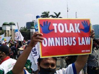 Ilustrasi: Kalangan pekerja menolak UU Cipta Kerja. (KalderaNews.com/Ist.)