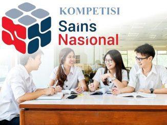 Ilustrasi: Kompetisi Sains Nasional (KSN) 2020 untuk jenjang SMA/MA sudah dimulai. (KalderaNews.com/repro: y.prayogo)